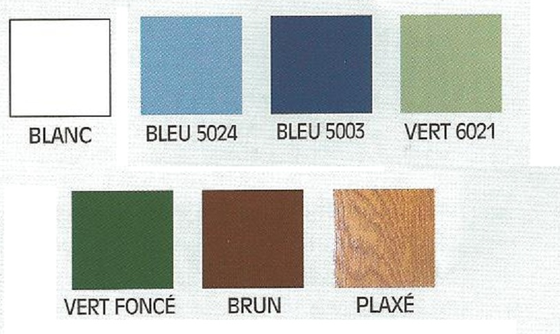 Avenir fen tres for Portail pvc couleur